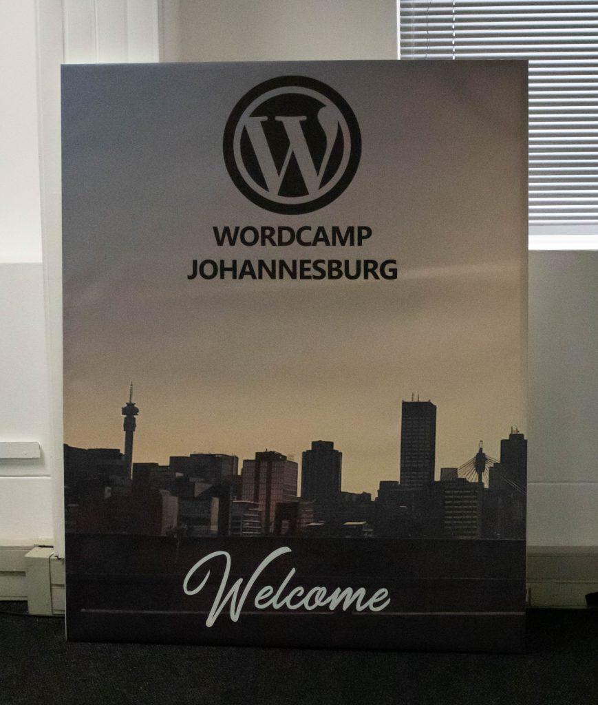 WordCamp Johannesburg 2018