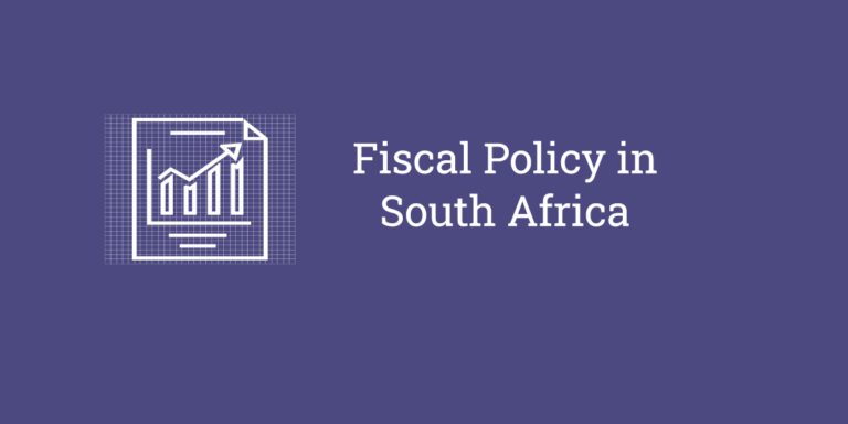fiscal policy south africa