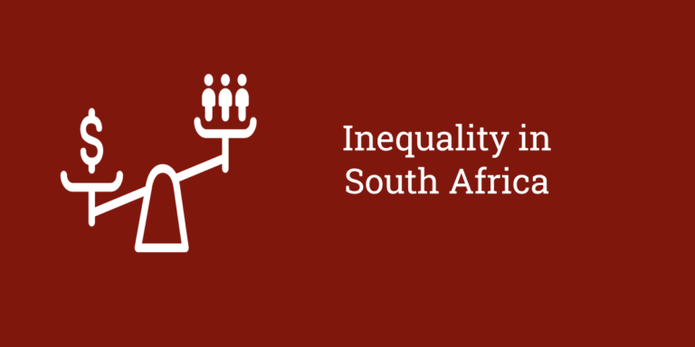 Inequality in South Africa